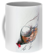 Feeding Hen, Trasierra Coffee Mug