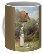 Feeding The Ducks Coffee Mug