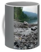 Feeding The Lake Coffee Mug