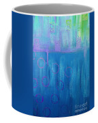 Feeling Blue Abstract Coffee Mug