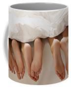 Feet In Bed Coffee Mug