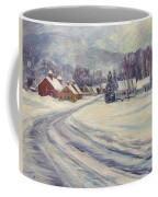 Felchville Village In The Snow Coffee Mug