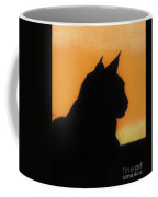 Feline - Sunset Coffee Mug