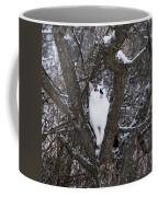 Felis Silvestris Catus In Winter Coffee Mug