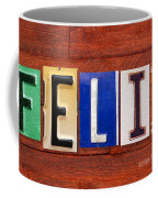 Felix License Plate Name Sign Fun Kid Room Decor Coffee Mug