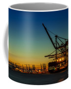 Felixstowe Docks Coffee Mug by Svetlana Sewell
