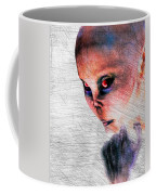 Female Alien Portrait Coffee Mug