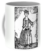 Female Continental Soldier Coffee Mug