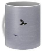 Female Goldeneye In Flight Coffee Mug