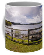 Fence At Kielder Water Coffee Mug
