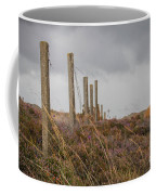Fence In The Storm In Norway Coffee Mug