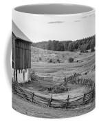 Fence Line Monochrome Coffee Mug
