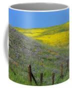Fenced In Flowers Coffee Mug