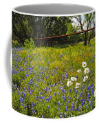 Fenceline Wildflowers Coffee Mug