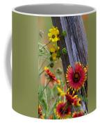 Fenceline Wildflowers Coffee Mug