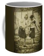 Fencing Practice Coffee Mug