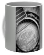 Fender Guitar Black And White 2 Coffee Mug