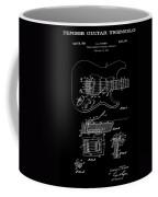 Fender Guitar Tremolo Patent Art 1956 Coffee Mug