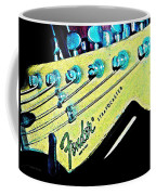 Fender Head In Watercolor Photo Coffee Mug