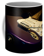 Fender Stratocaster In Blue Coffee Mug