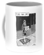 'fendi Bag Lady' Coffee Mug