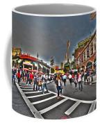 Fenway Park And Cask And Flagon Coffee Mug