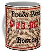 Fenway Park Boston Redsox Sign Coffee Mug