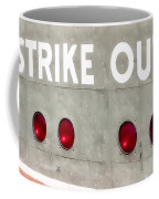 Fenway Park Strike - Out Scoreboard  Coffee Mug