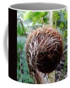 Fern Uncurling Coffee Mug