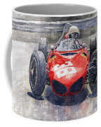 Ferrari 156 Sharknose Phil Hill Monaco 1961 Coffee Mug