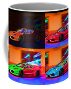 Ferrari Collage Coffee Mug