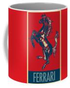 Ferrari Stallion In Hope Coffee Mug