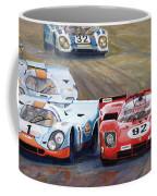 Ferrari Vs Porsche 1970 Watkins Glen 6 Hours Coffee Mug