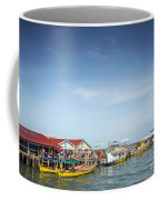 Ferries At Koh Rong Island Pier In Cambodiaferries At Koh Rong I Coffee Mug