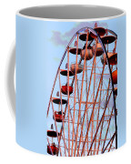 Ferris Wheel At Sunset Coffee Mug