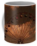 Ferris Wheel At Twilight Coffee Mug