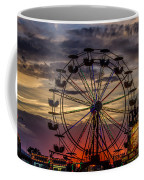 Ferris Wheel Sunset Coffee Mug