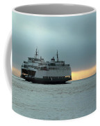 Ferry Sealth In The Fog Coffee Mug
