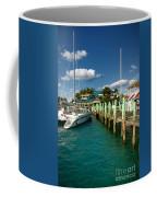 Ferry Station Paradise Island Coffee Mug