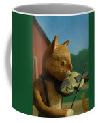 Fiddle Cat 2 Coffee Mug