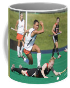 Field Hockey Hurdle Coffee Mug
