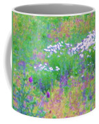 Field Of Flowers In Nature Coffee Mug