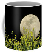 Field Of Gold By Moonlight Coffee Mug