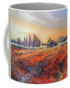 Field Of Light Oil Painting Coffee Mug