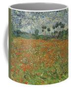 Field Of Poppies, Auvers-sur-oise, 1890 Coffee Mug