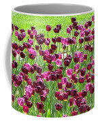 Field Of Purple Tulips 1 Coffee Mug