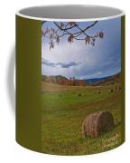 Field Of Round Bales Coffee Mug