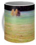 Field With Four Trees Coffee Mug