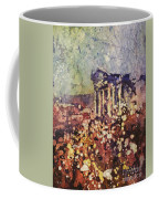 Fields Of Flower- And Roman Temple Coffee Mug