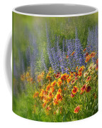 Fields Of Lavender And Orange Blanket Flowers Coffee Mug